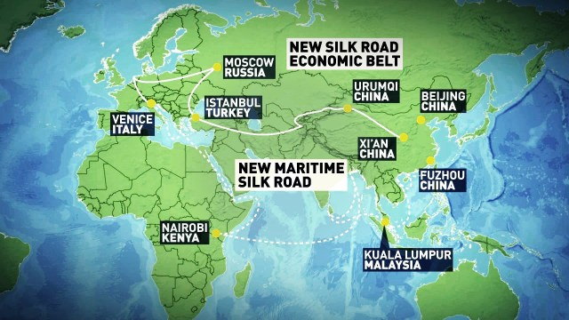 One Belt One Road : the Silk Road 2.0 ?