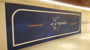 Photo: is set to be the site of the largest indoor shopping mall aquarium in Indonesia.