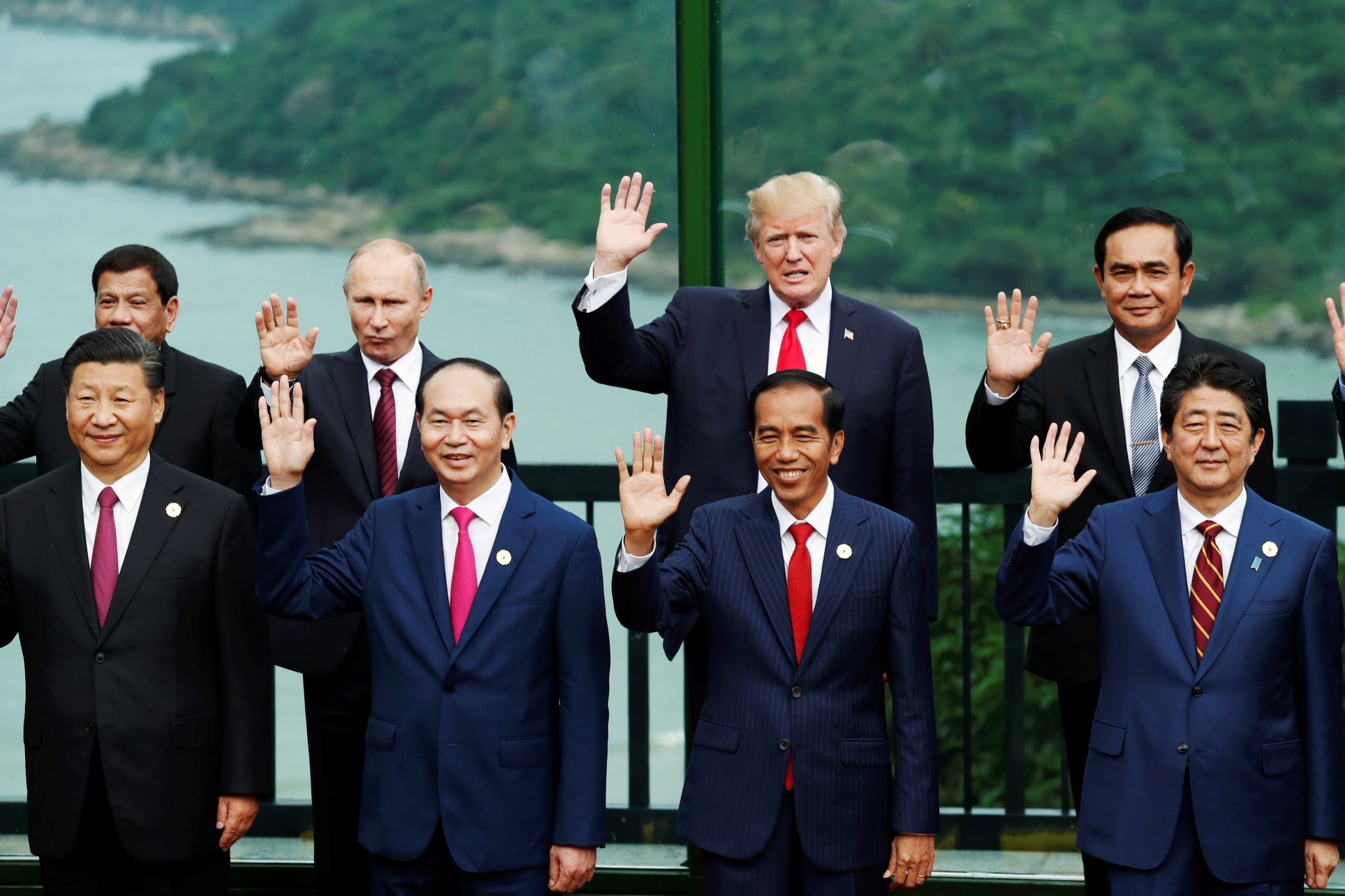 World's eyes on Asian summits as US leadership dwindles