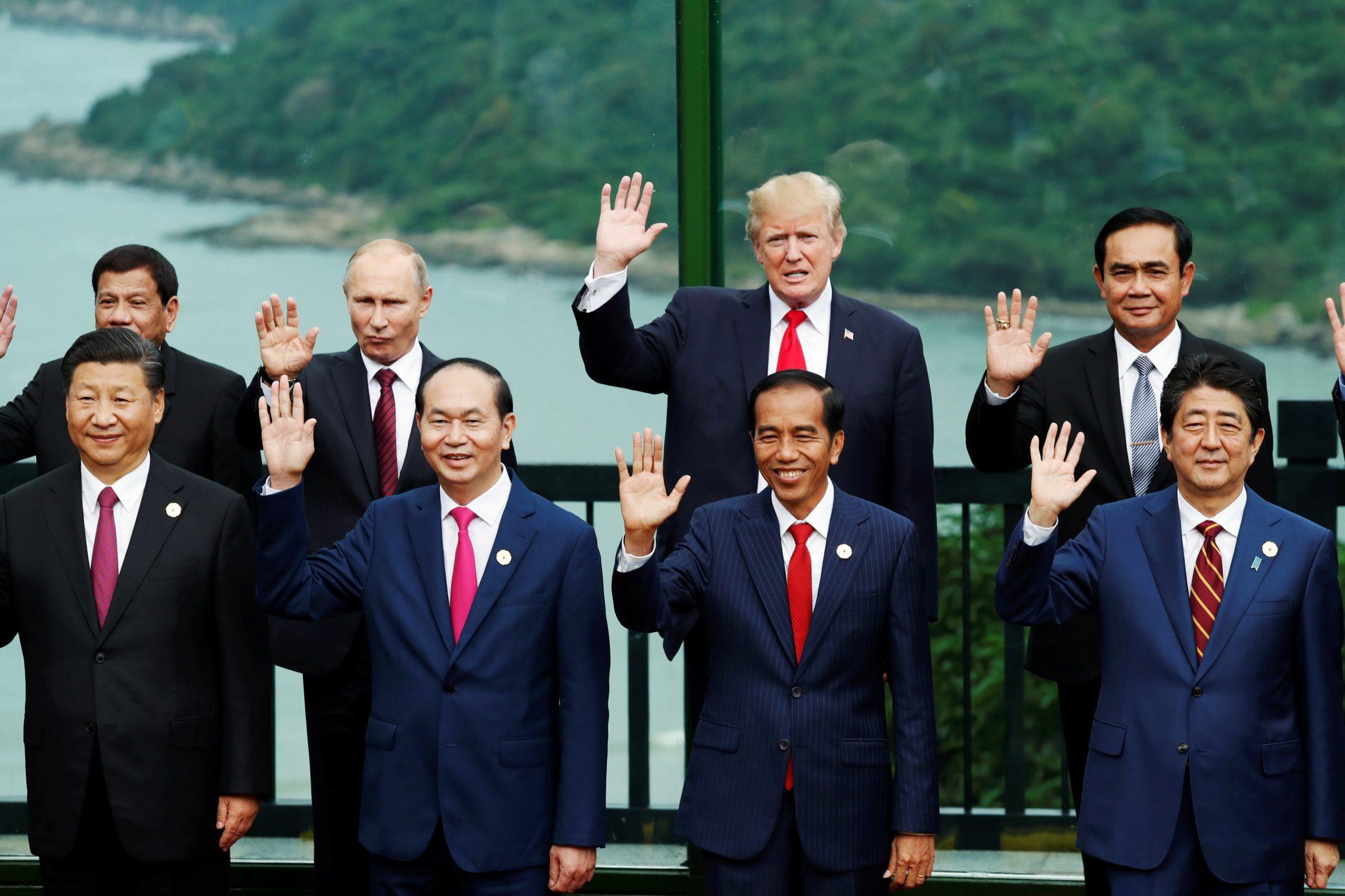 World's eyes on Asian summits as US leadership dwindles