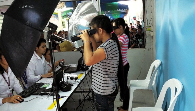 Thailand has been using Iris scanning technology to capture data in order to track identities of migrant workers
