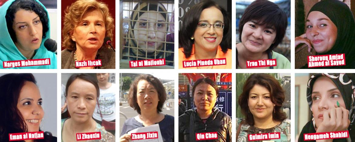 Women's Day : Twenty-seven women journalists held in appalling conditions