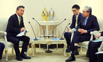 JCC Bangkok president meets DPM Somkid