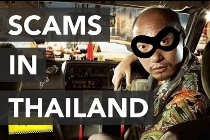 how to avoid scams in Thailand