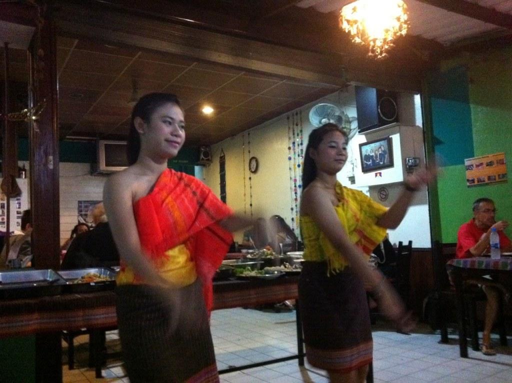 inside Mai Kadee's Vegetarian Restaurant Bangkok