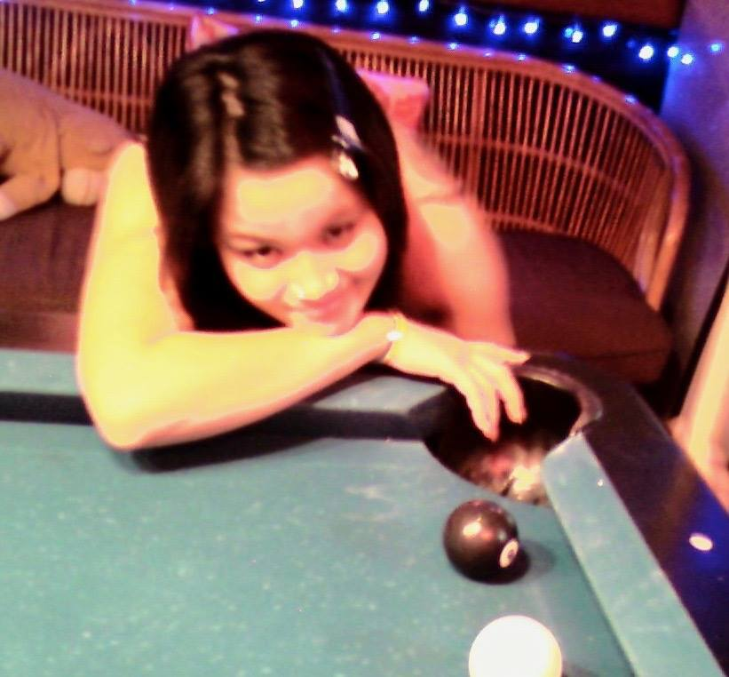 play pool with girl in Pattaya