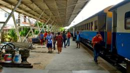 Rural Train Station in thailand