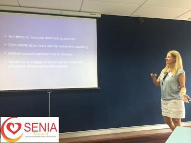 Lori Boll presenting