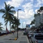 Jomtien beach road