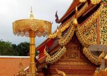 Doi Suthep Chiang Mai Thailand Wat Phra That