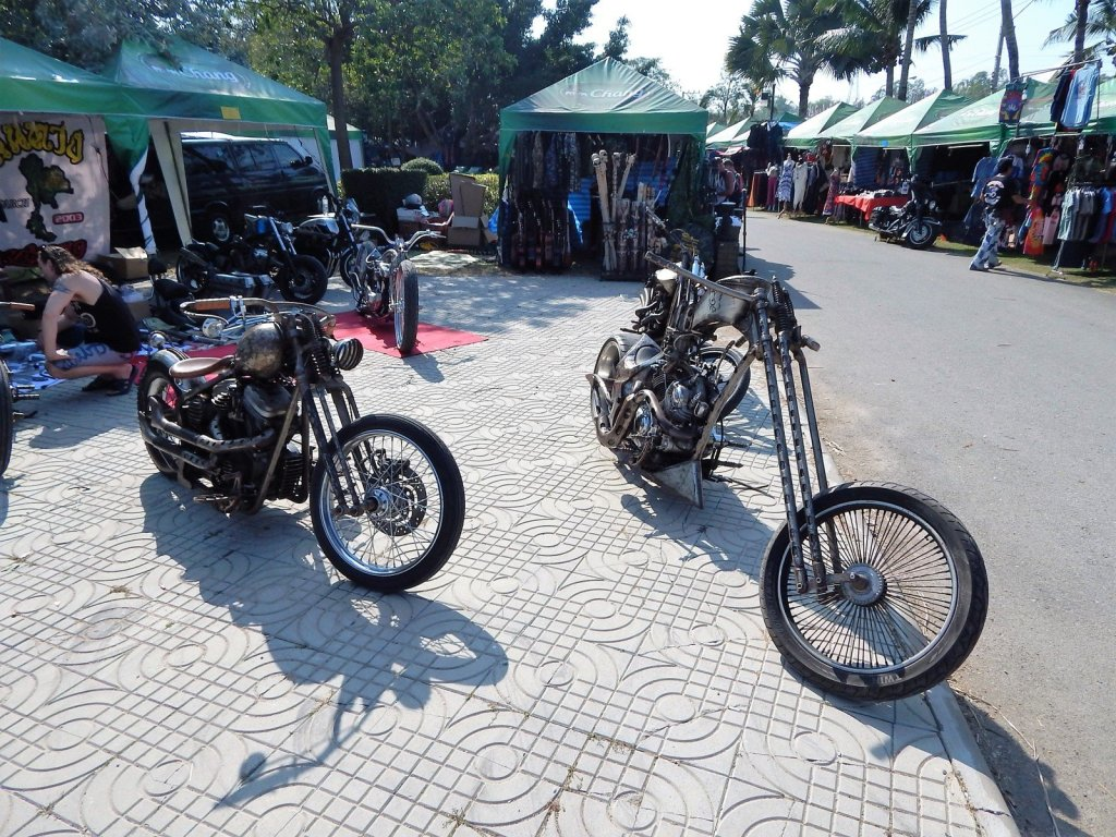 Festival annuale Burapa Bike Week a Pattaya