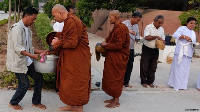 Thailand's overweight monks are put on diet