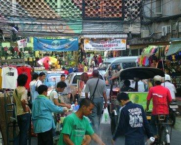 Pratunam street vendors