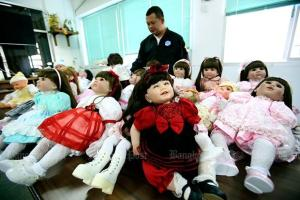 Luk Thep Dolls in Police custody