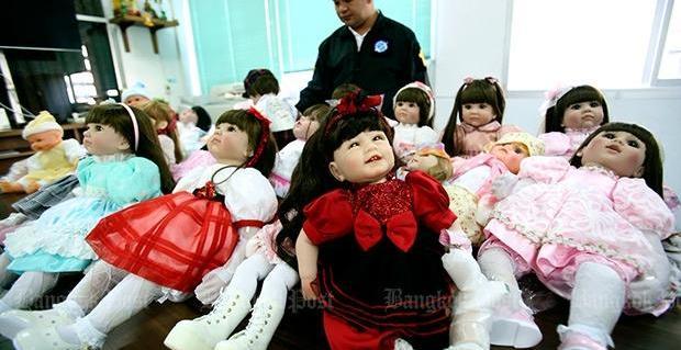 Luk Thep Dolls in Police custody