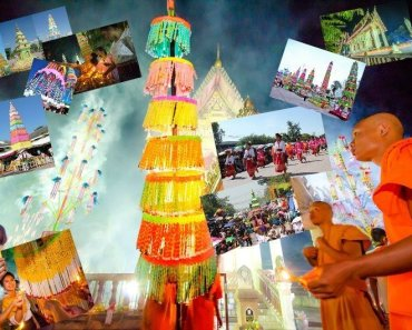 An ancient tradition of Northeast Thailand that celebrates the Buddha's return