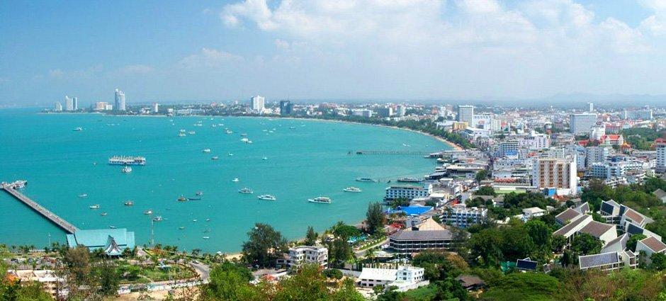 Pattaya Thailand Eastern Gulf Coast