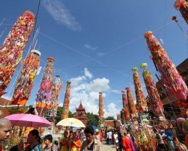 Thailand Festivals Salak Yom