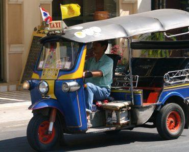 Bangkok Thailand Tuk Tuks