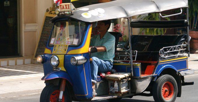 Bangkok Thailand Tuk Tuks Thai modes of transport