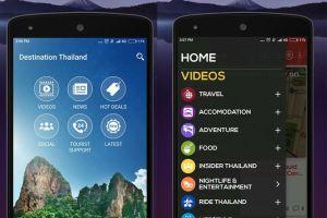 Thailand tourists app