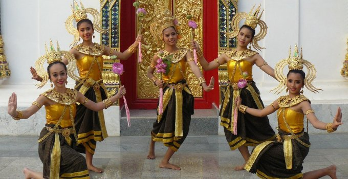 Thailand festivals Silk and Phuk Seow