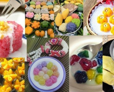 Thai Food Thailands Desserts
