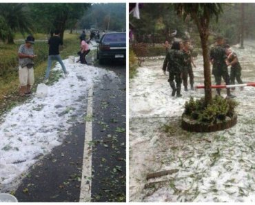 Thailand Weather Leaving Snow Prints