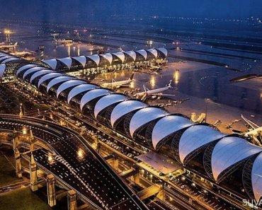 Bangkok Airport Thailand or Suvarnabhumi Airport