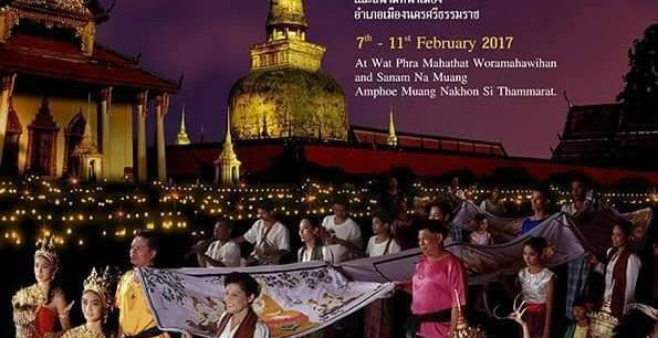 Thailand Festivals Hae Phra Khuen That Festival Has Taken Place in This Holy Place for Over 800 Years