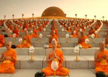 Thailand Festivals Makha Bucha Day