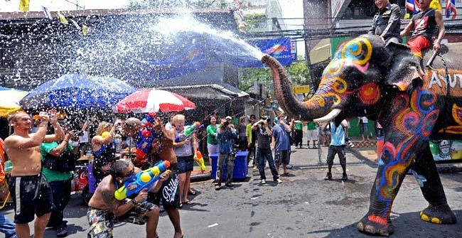 Thailand Songkran Festival 2017 Songkran across Thailand