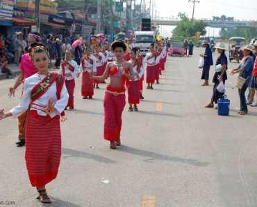 Thailand festivals Rocket Festival