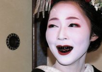 Asian Girls Thailand's Beauty and the Teeth Blackening