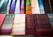 Thai silk textiles