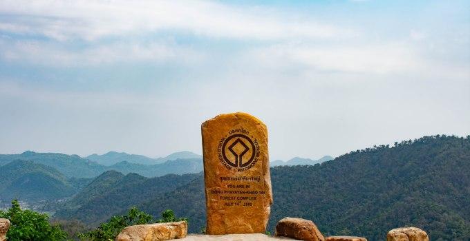 Khao Yai National Park.Walk among the giants.