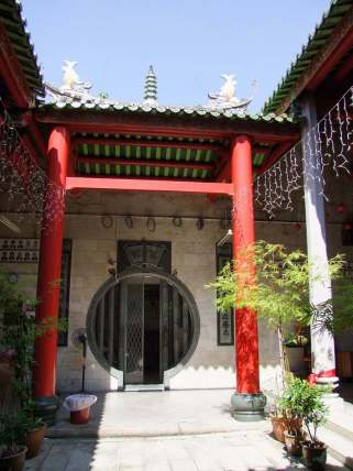 cour thean hou temple chinois penang malaisie