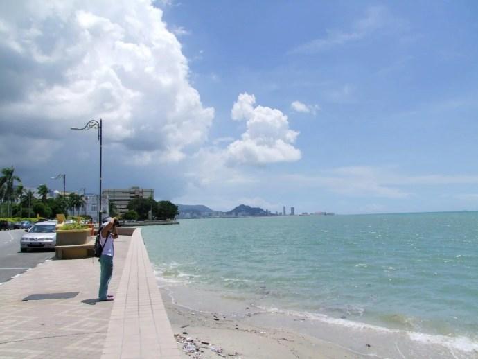 front de mer nord est penang malaisie
