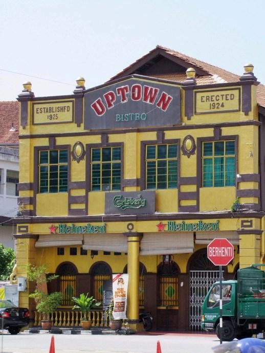 uptown bistro penang malaisie 2009