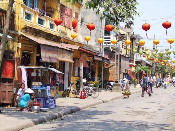 vieille rue hoi an - vietnam