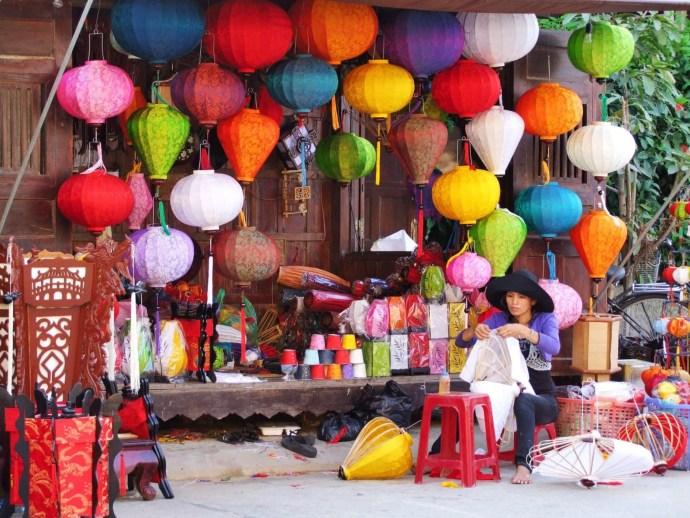 lanternes hoi an - vietnam