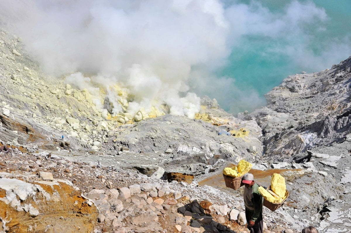 kawah ijen - java - indonesie