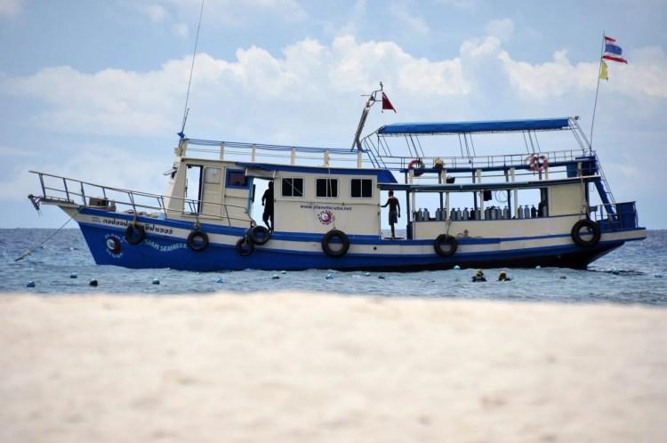 bateau ko nang yuan - ko tao - thailande