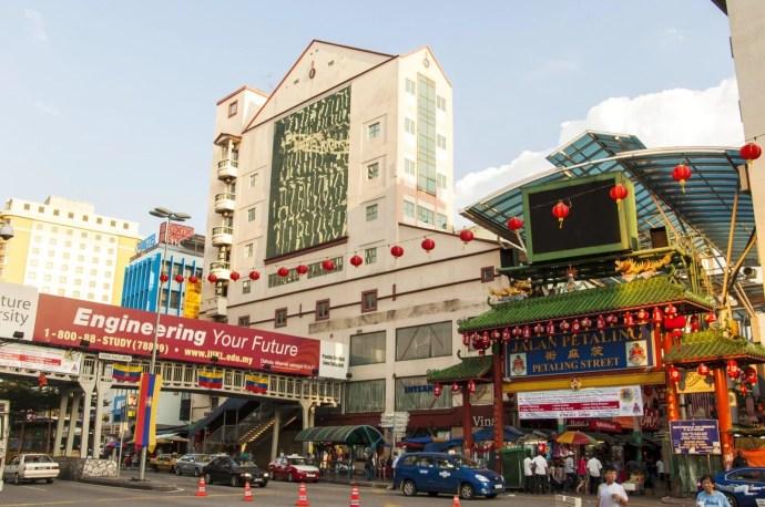 chinatown Kuala Lumpur Malaisie
