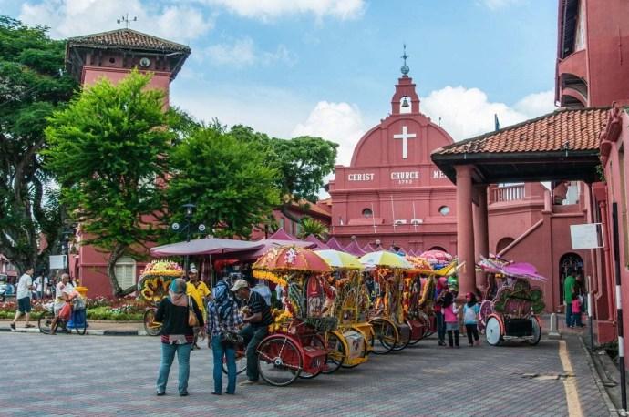 dutch square - malacca - malaisie