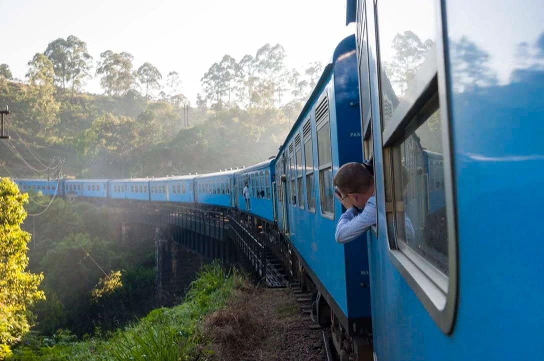 Sri Lanka - train Nuwara Eliya