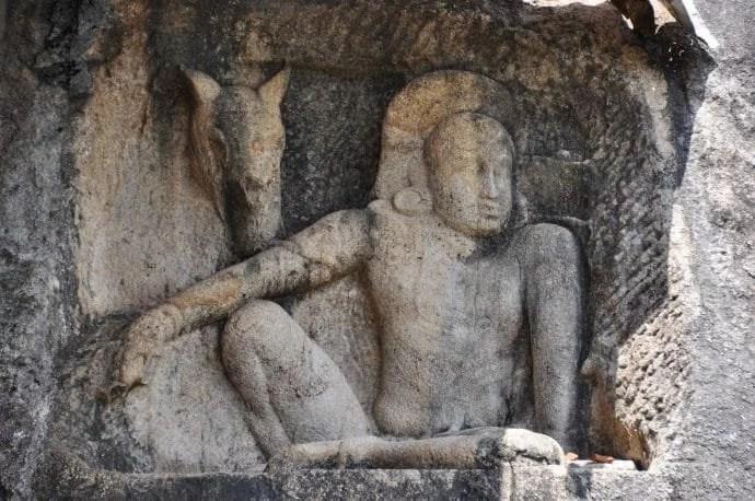 isurumuniya vihara - anuradhapura - sri lanka