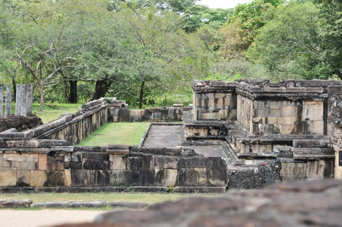 quadrangle polonnaruwa - sri lanka