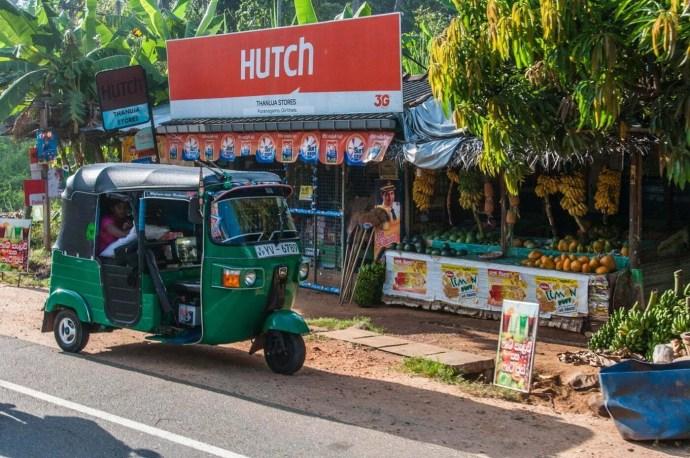 trajet polonnaruwa - dambulla - sri lanka