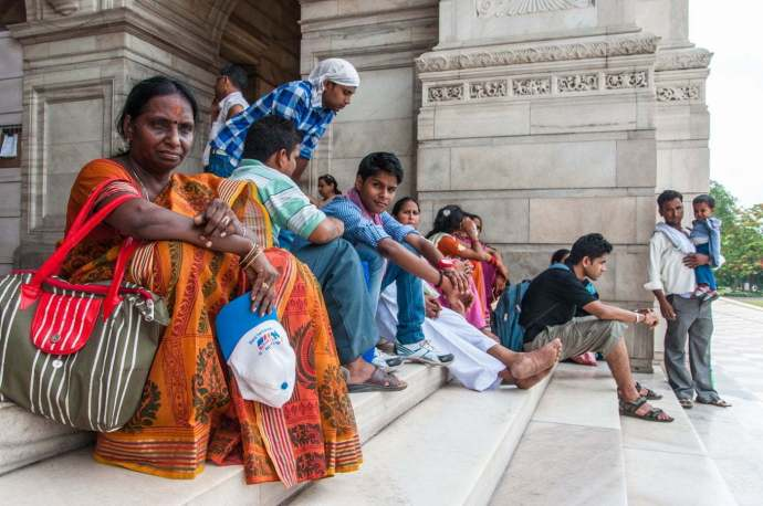 victoria memorial calcutta - inde